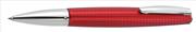 ONLINE Selection Taşlaşmış Alüminyum/Özel Kare Desen Tükenmez kalem - Kırmızı