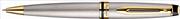 Waterman Expert 3 Essential Saten Çelik Altın Kaplama Aksam Tükenmez kalem