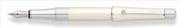CROSS Beverly Parlak Lake İnci Beyaz/Krom Kemerli Dolma Kalem
