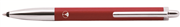 Scrikss 101 Krom Tükenmezkalem - Mat Kırmızı