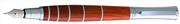 Oberthur Groove Gül Ağacı Dolma Kalem Deri Kalem Kılıfı Hediyeli