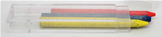 Kaweco Mekanik Kurşunkalem için 5.6 mm Sarı Mavi Kırmızı Üçlü HB Uç
