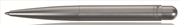 Kaweco Liliput Gümüş Gri Sert Alüminyum 97mm Tükenmez Kalem