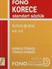 FONO / KORECE-TÜRKÇE-TÜRKÇE-KORECE STANDART SÖZLÜK