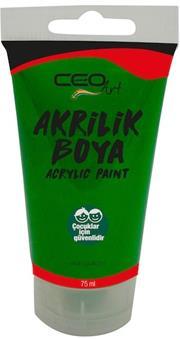 CEO ART AKRİLİK BOYA 75ML YEŞİL AB0013