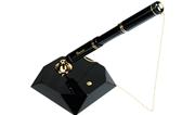 Kaweco Dia II Tükenmez Kalem + Altın Kaplama Masa standı