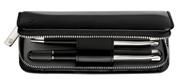 Pelikan Siyah Rugan Deri 2 li Kalem Kılıfı
