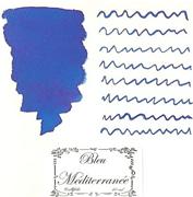 L Artisan Pastellier Callifolio Dolmakalem Mürekkebi / 40 ml Cam şişe - Akdeniz Mavisi