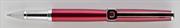 Oberthur Isis Kırmızı Parlak Lake Roller Kalem Tekli Kırmızı Deri Kılıf Hediyeli