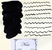 L Artisan Pastellier Callifolio Dolmakalem Mürekkebi / 40 ml Cam şişe - Kömür Siyah