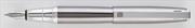 Oberthur Osiris Titanyum/Krom Dolma Kalem Tekli Deri Kılıf Hediyeli