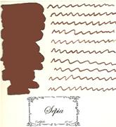 L Artisan Pastellier Callifolio Dolmakalem Mürekkebi / 40ml Cam şişe - Sepya