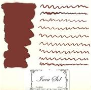 L Artisan Pastellier Callifolio Dolmakalem Mürekkebi / 40ml Cam şişe - İnca Sol kızıl/kahve