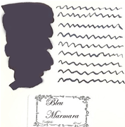 L Artisan Pastellier Callifolio Dolmakalem Mürekkebi / 40 ml Cam şişe - Marmara mavi/siyah