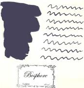 L Artisan Pastellier Callifolio Dolmakalem Mürekkebi / 40 ml Cam şişe - İstanbul Boğazı mavi/siyah