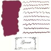 L Artisan Pastellier Callifolio Dolmakalem Mürekkebi / 40 ml Cam şişe - Granat Taşı Kızılı