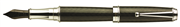 Monteverde Invincia Deluxe Carbon/Chrome Dolma Kalem - 3 Farklı Uç Seçeneği