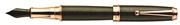 Monteverde Invincia Deluxe Rose Gold/Carbon Dolma Kalem - 3 Farklı Uç Seçeneği