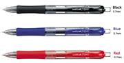 uni-ball SigNo RETRACTABLE 0.7 Üsten Basmalı Rollerkalem UMN-152 (1x12 adet) - Mavi