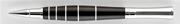 Oberthur Groove Abanoz Ağacı/Çelik Roller Kalem Deri Kalem Kılıfı Hediyeli