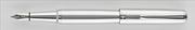 Oberthur Opus Mat Lake Gümüş/Krom Dolma Kalem / Tekli Deri Kılıf Hediyeli