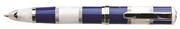 Monteverde Regatta Mavi/Beyaz Krom Halkalı Tükenmez Kalem