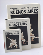 Scrikss Notelook World Night Tours-Buenos Aires A7 (7.4x10.5cm) Defter