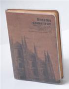 Scrikss Dreams Come True Tarihi Yapılar Temalı Eskitilmiş Görünüm (9.5x13.5cm) Defter