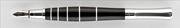 Oberthur Groove Abanoz Ağacı/Çelik Dolma Kalem Deri Kalem Kılıfı Hediyeli