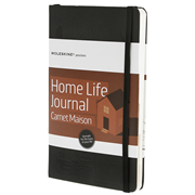 MOLESKINE Hard Cover Notebook - Home Life Journal 13x21cm
