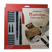 MANUSCRIPT Masterclass Calligraphy Düz Kesik Dolmakalem XL Set <br><img src= resim/isyaz.gif  border= 0 />
