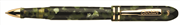 Conklin Symetrik1929 Yeşil/Siyah Gövde Altın Klips Roller Kalem