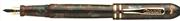 Conklin Symetrik1929 Mavi/Kahve Gövde Altın Klips Dolma Kalem - 2 Farklı Uç Seçeneği