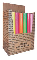 Keskin Fon Kartonu 35x50 Poşetli 10 lu 201101-99