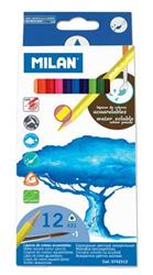Milan Kuruboya Aquarel Üçgen Gövde 12li M0742312
