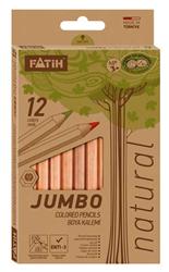 Fatih Kuruboya 12 Renk Tam Boy Jumbo Natural 33500