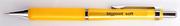 bigpoint Soft Silikon Mekanik Kurşun Kalem/Sarı - 0.5mm