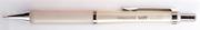 bigpoint Soft Silikon Mekanik Kurşun Kalem/Beyaz - 2 Farklı Uç Seçeneği
