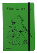 Scrikss Notelook Ride and Write Notebook - A6 (10.5x14.8cm)
