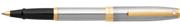 SHEAFFER Sagaris Yarım Mat Çelik/Altın Roller Kalem