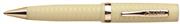 Conklin Glider Chased1940 Fildişi Guilloche Gövde Altın Klips Tükenmez Kalem
