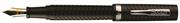 Conklin Glider Chased1940 Siyah Guilloche Gövde Çelik Klips Dolma Kalem - 2 Farklı Uç Seçeneği