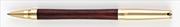 Oberthur Nymphéor Slim Gül Ağacı/Altın Roller Kalem Tekli Kalem Kılıfı Hediyeli