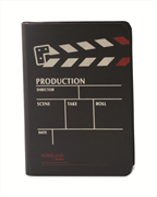 "Scrikss Notelook ""PRODUCTION BLACK"" Notebook - A6 (10.5x14.8cm)"