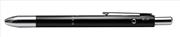 Steelpen 3 Multi Fonksiyonlu Kalem Parlak Siyah Renk Gövdeli