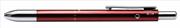 Steelpen 3 Multi Fonksiyonlu Kalem Metalik Kırmızı Renk Gövdeli