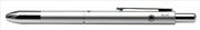 Steelpen 3 Multi Fonksiyonlu Kalem Mat Gümüş Renk Gövdeli