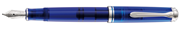 Pelikan Souverän M605 Marine Blue Dolma Kalem - 3 Farklı Uç Seçeneği