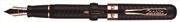 Conklin Mark Twain Crescent Filler™ Pompa Dolma Kalem -Rose Gold Aznavur/Siyah - 3 Farklı Uç Seçeneği