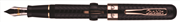 Conklin Mark Twain Crescent Filler™ Pompa Dolma Kalem -Rose Gold Aznavur/Siyah